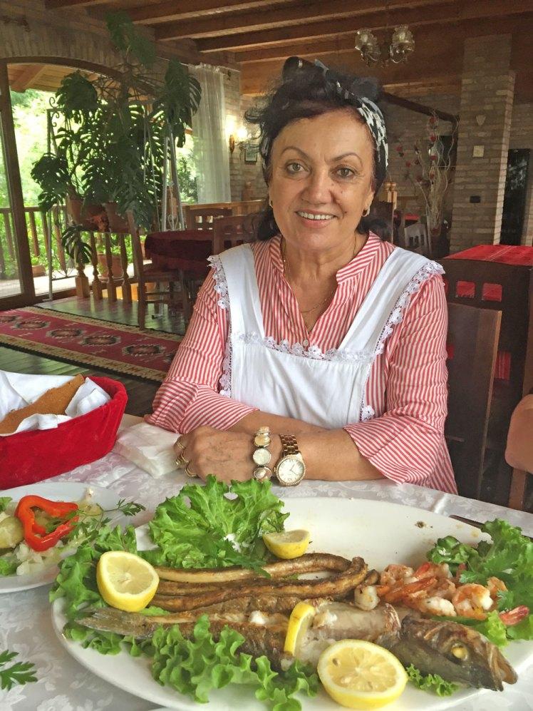 Restaurant eigenares Diella Noshi.