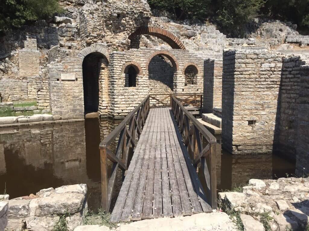 National park, Butrint, Albanie