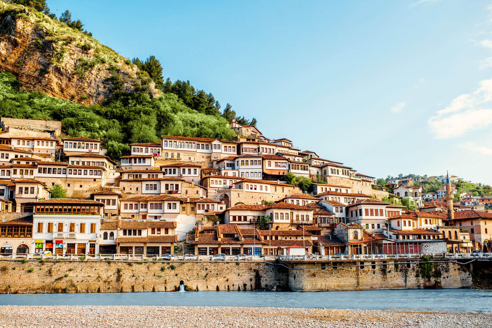 Berat, Albanie, Mangalemi