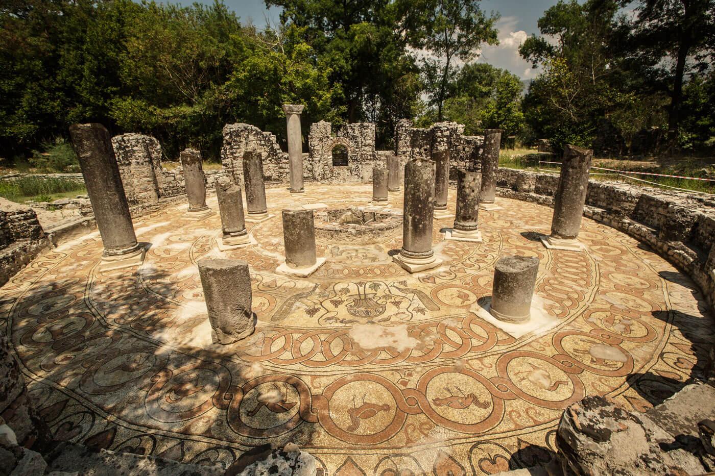 butrint mozaiken