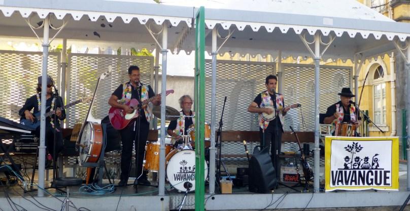 Betty's husband's creole band!