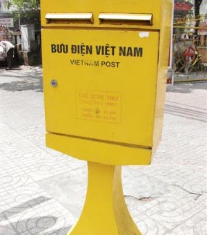 Snazzy postbox