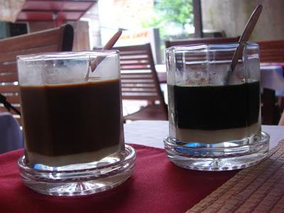 Coffee with condensed milk!