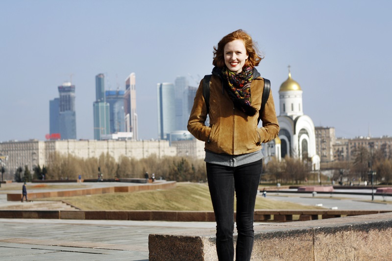 Polly in Moscow