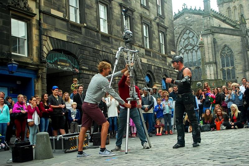 Free Fringe Show on the Royal Mile