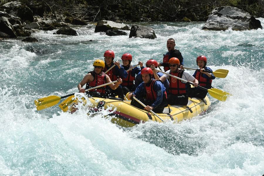 rafting on tara drina