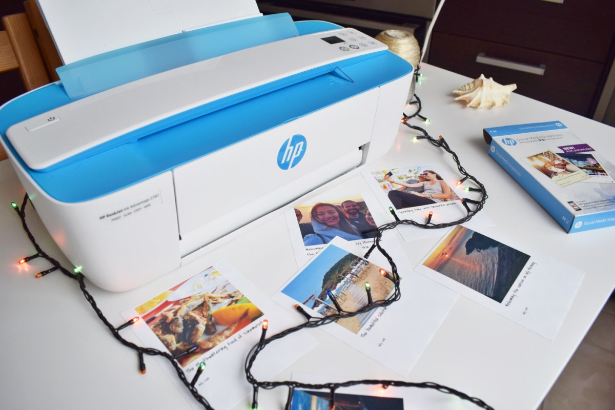 HP Deskjet Advantage - printing your travel memories