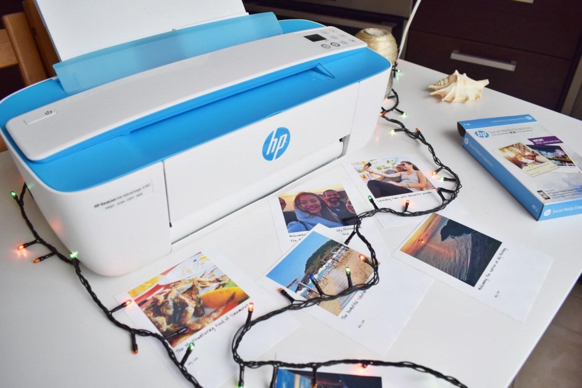 HP Deskjet Advantage - printing your travel memories