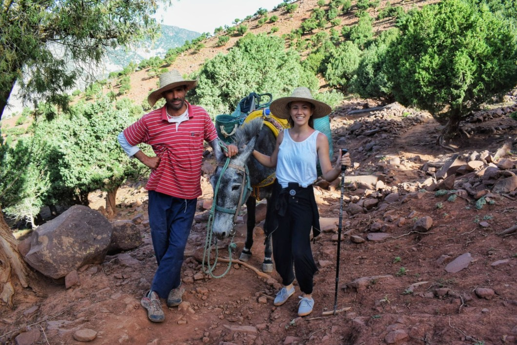 hiking in morocco high atlas mountain with kasbah du toubkal (2)