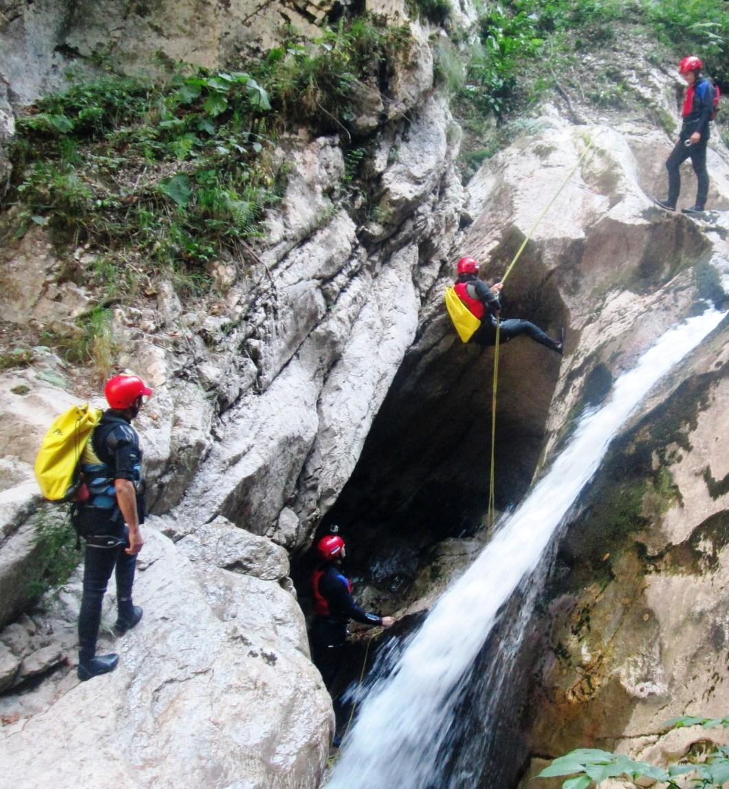 Canyoning Hrcavka