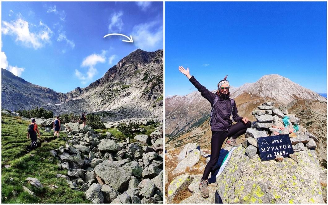 Muratov Peak in Pirin Bulgaria
