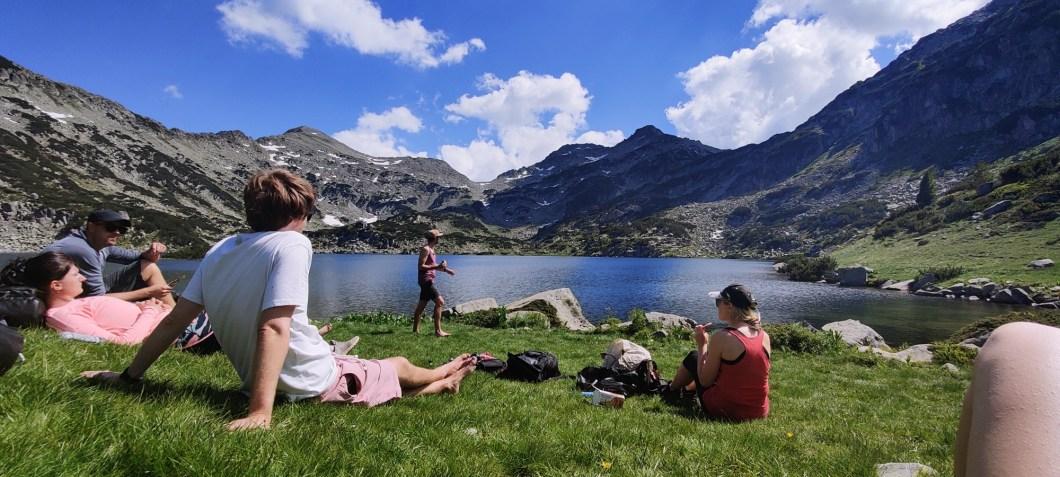 Popovo Lake in Pirin Bulgaria