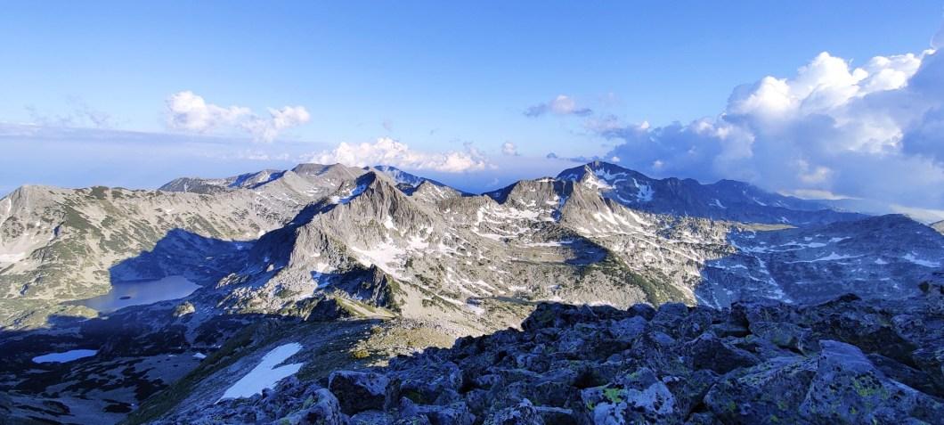 Views from Golyam Polezhan peak Bulgaria