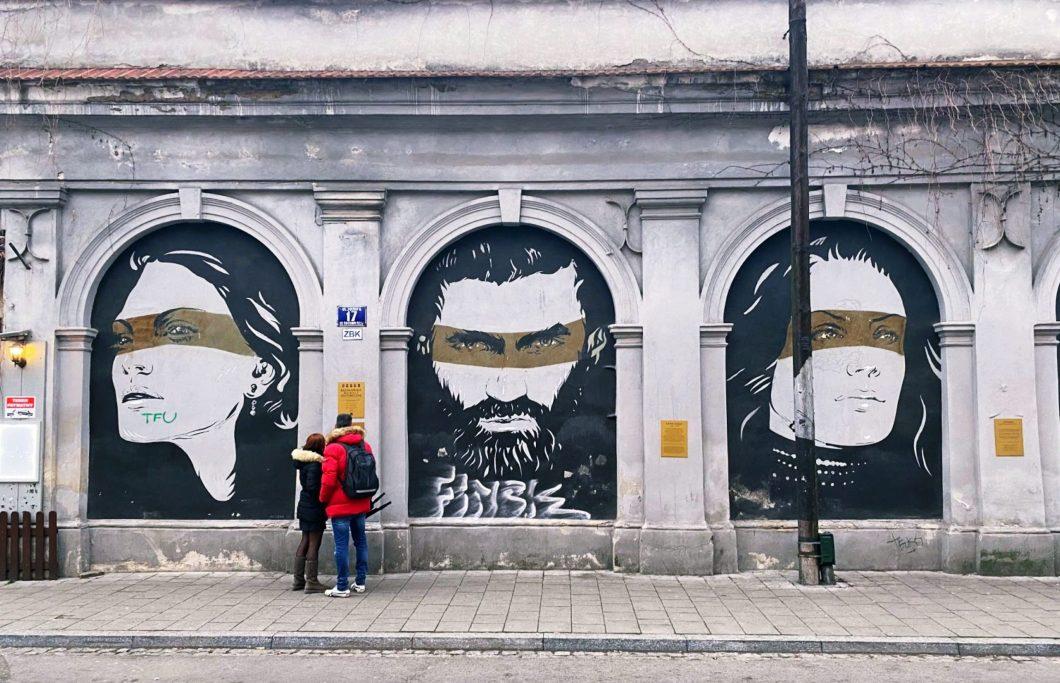 Kazimierz Historic Murals