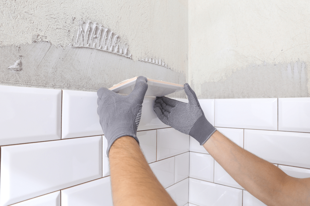 how to replace bathroom tiles that have
