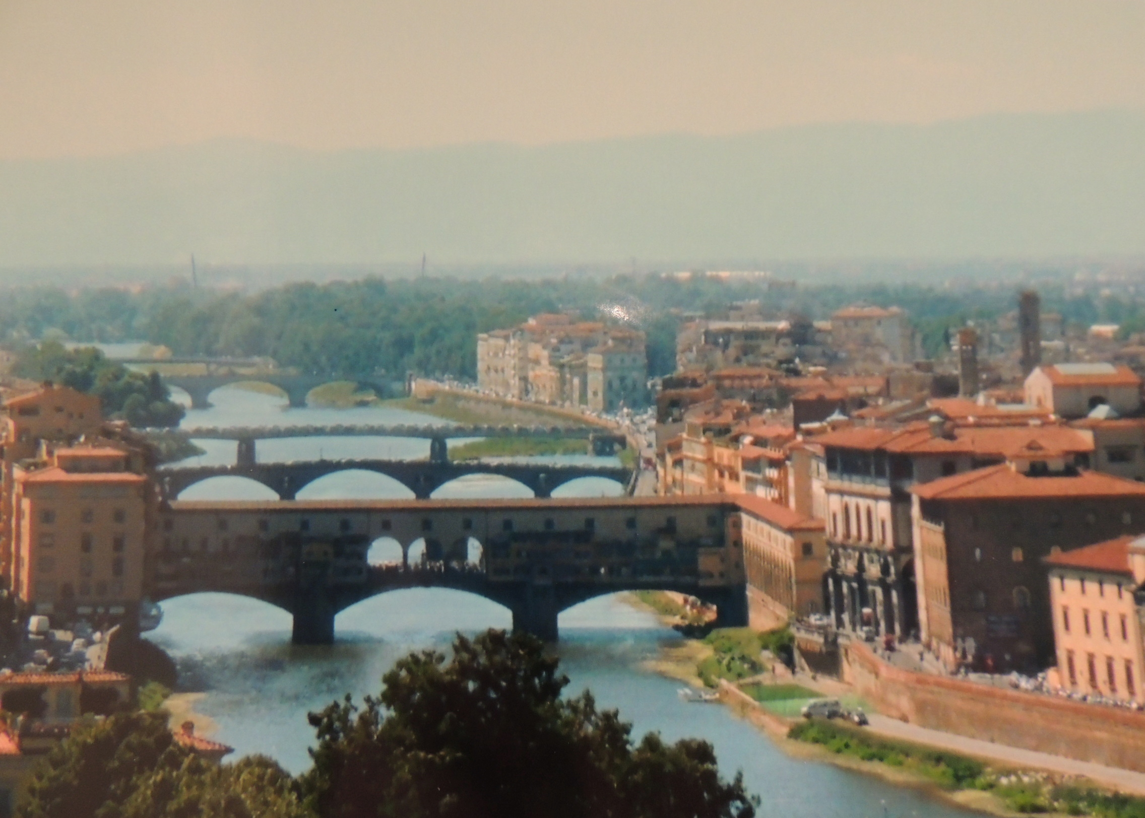 photo essay florence in the summer the travelling calavera i doubt it has as many as madison county but there are a hell of a lot of bridges here