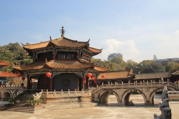 Yuantong Si Temple in Kunming in November 2013