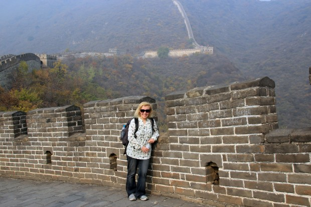On the Great Wall, Mutianyu (October 2013)