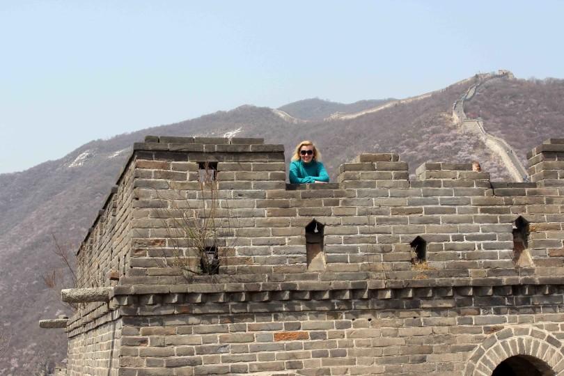 Wachturm Chinesische Mauer Mutianyu
