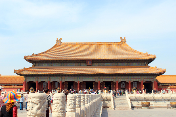 Palace of Heavenly Purity (Qianqing Gong)