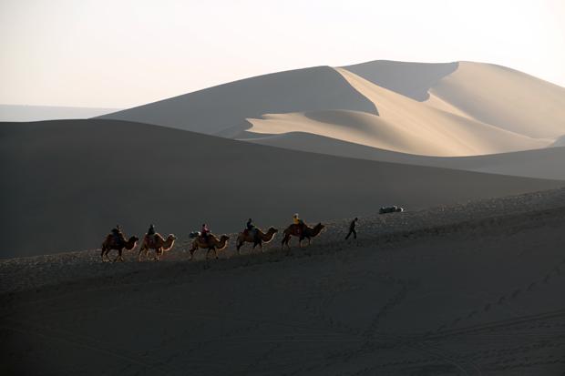 Mingsha Sand Dunes Dunhuang China