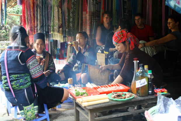 Ethnic groups highland Sapa Vietnam