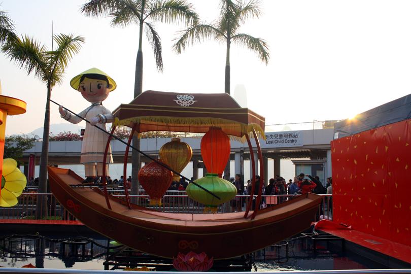 Chinesisches Neujahrsfest Hongkong