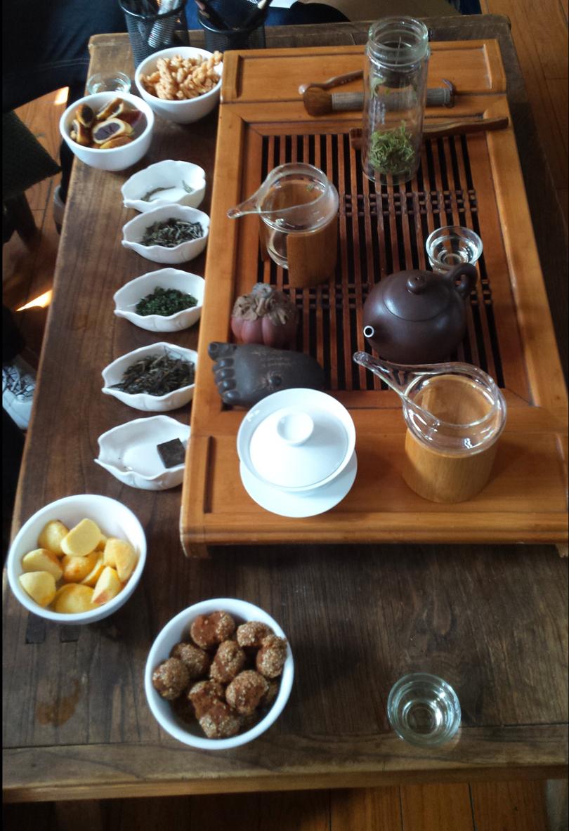 Tee-Verkosung Peking China