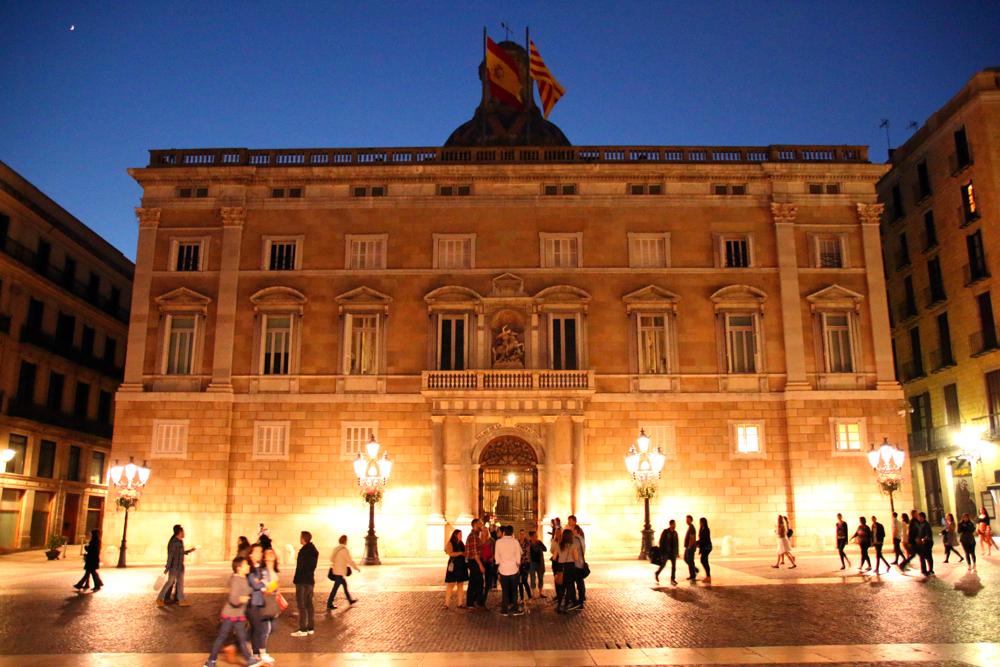 Palau de la Generalitat Placa de Sant Jaume Barcelona Spain