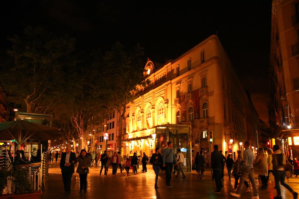 Liceu La Rambla Barcelona Spanien