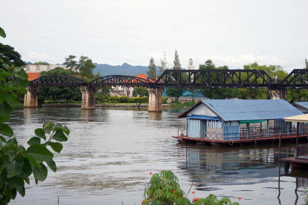 Brücke am Kwai Kanchaburi Thailand Asien