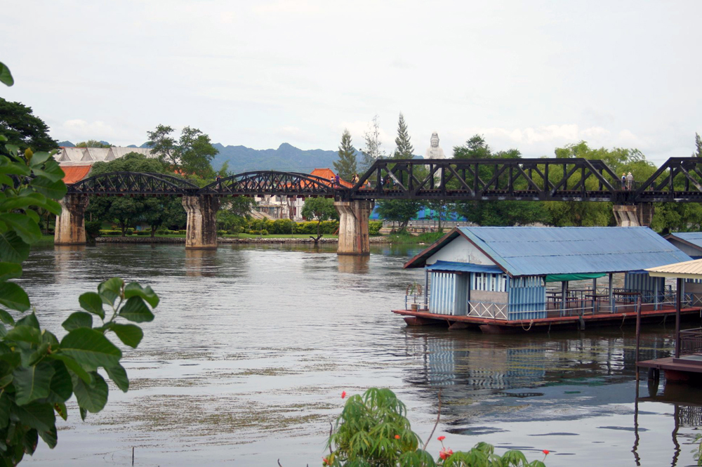 Bridge over the River Kwai Kanchanaburi Thailand Asia