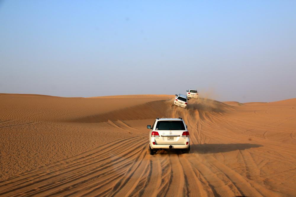 Wüstensafari Sharjah Vereinigte Arabische Emirate Naher Osten