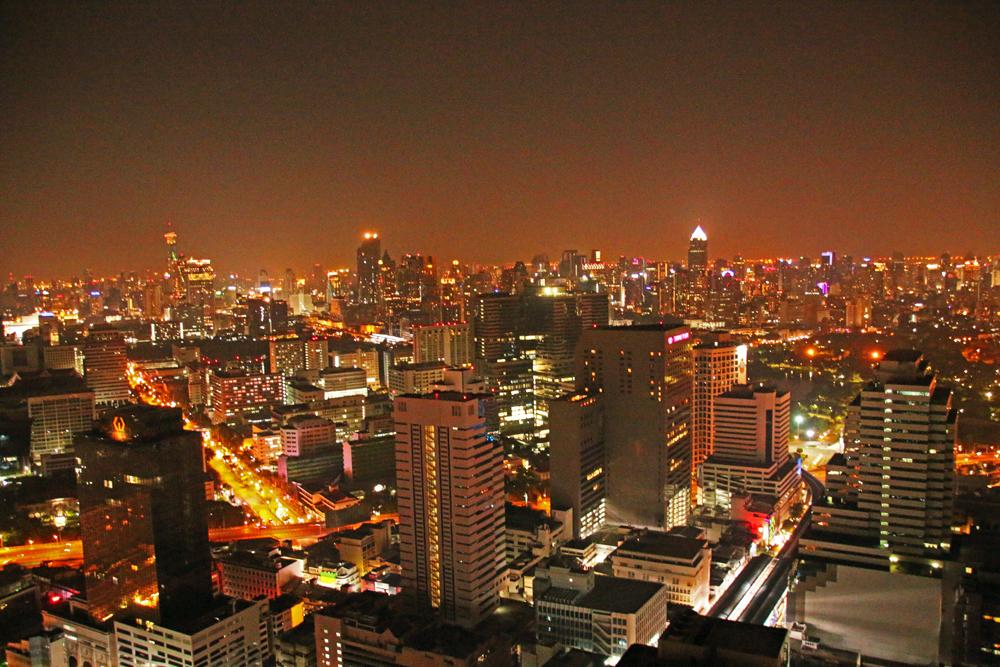 Ausblick auf Bangkok vom Cloud 47 - Travel Massive at TBEX