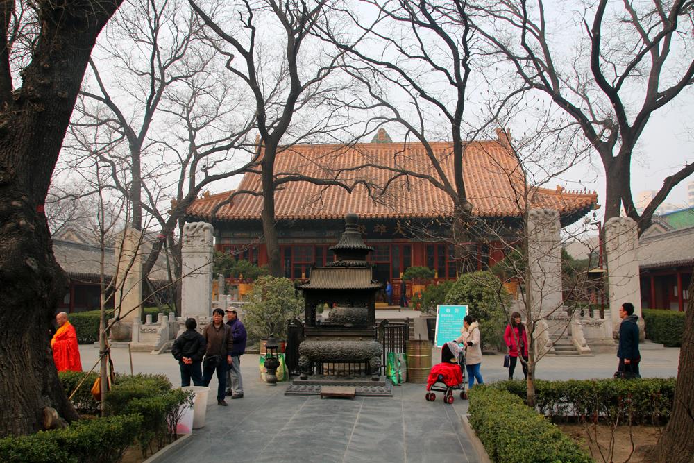 Guangji temple Xicheng district Beijing China