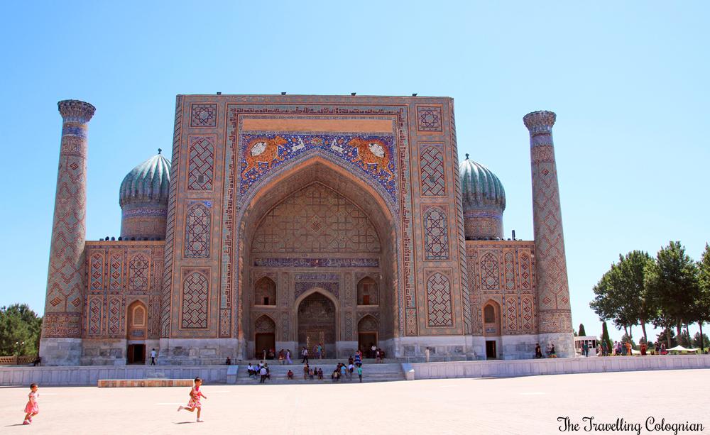The Jewels of Samarkand - the Registan - Sher Dor Medressa