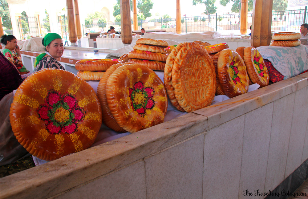 The Jewels of Samarkand - Vendour at the Siyob Bazaar