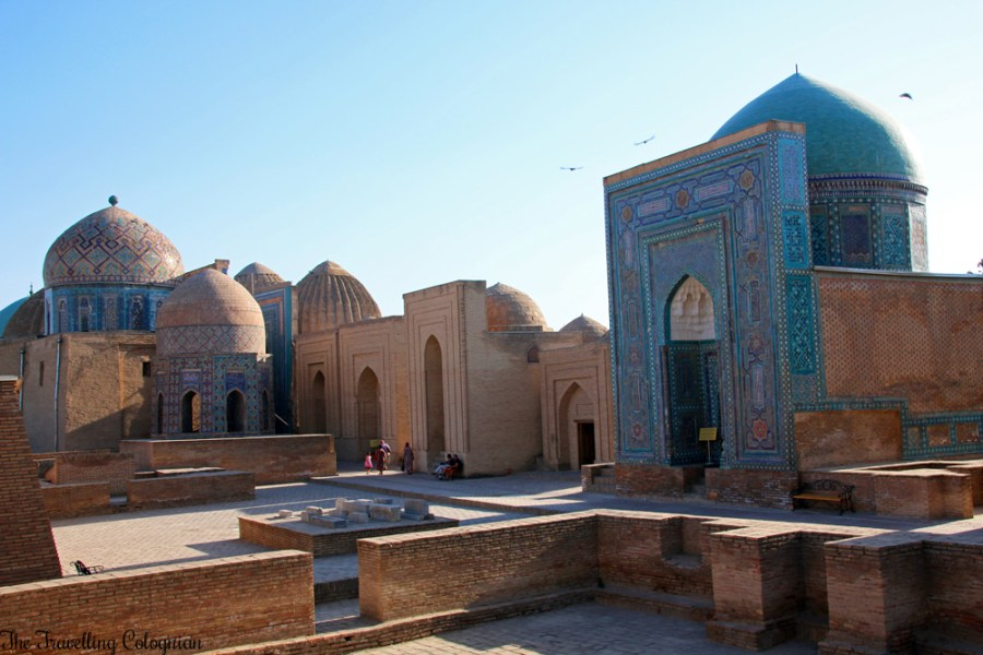 The - Jewels of Samarkand - Shah-i-Zinda - the Avenue of Mausoleums
