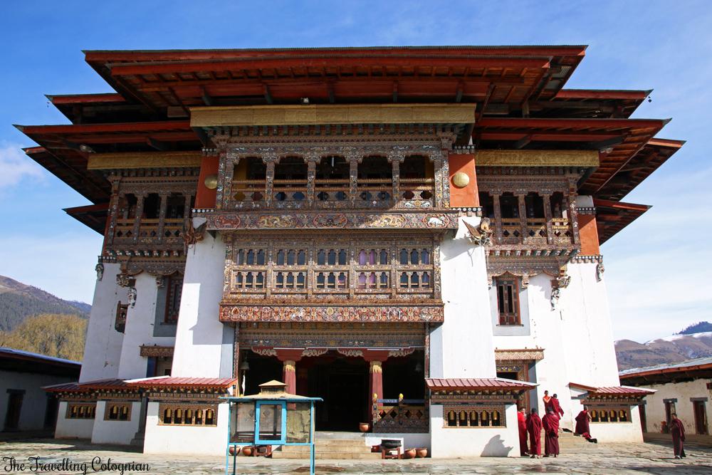 Bhutan Adventure Gangtey Goenpa Gangtey-Tal Bhutan Himalaya Asien