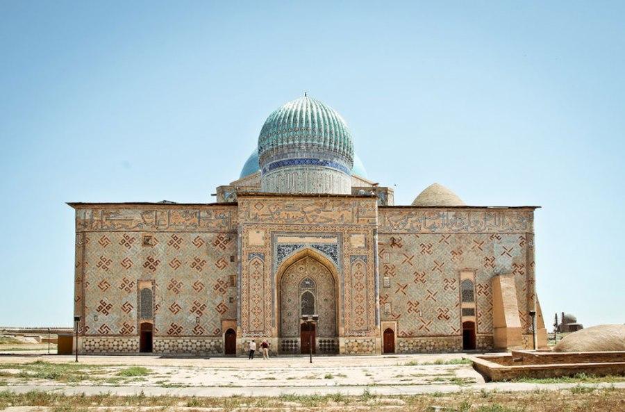 Tips Kazakhstan Khoja Ahmed Yasawi Mausoleum Kyrgyzstan Tajikistan Central Asia ASIA