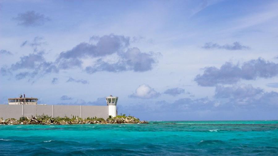 Maafushi-Gefängnis Malediven Südasien ASIEN