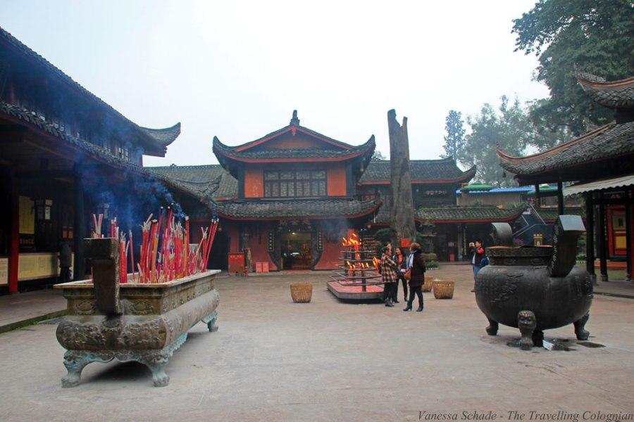 Baoguo-Kloster Emeishan Sichuan China Ostasien ASIEN