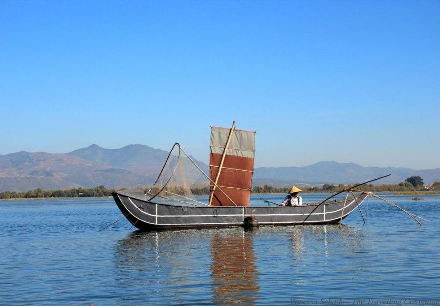 Erhai Lake Dali Yunnan China East Asia ASIA