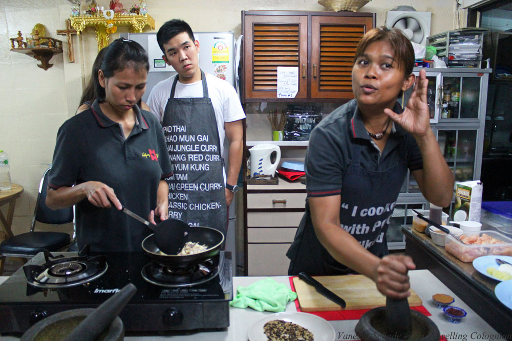 Cooking with Poo Cooking School Klong Toey Bangkok Thailand South East Asia ASIA