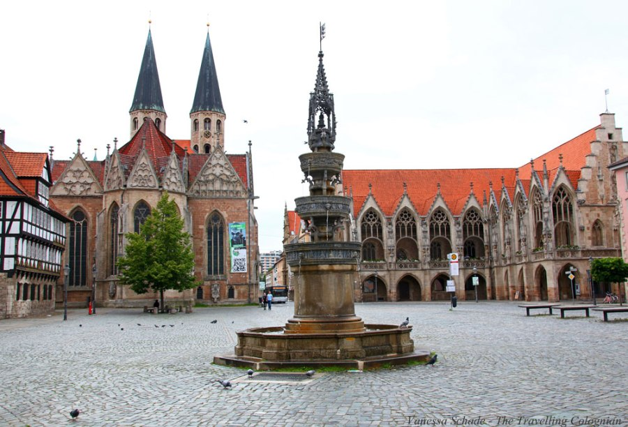 Altstadtmarkt Braunschweig Niedersachsen Deutschland EUROPA