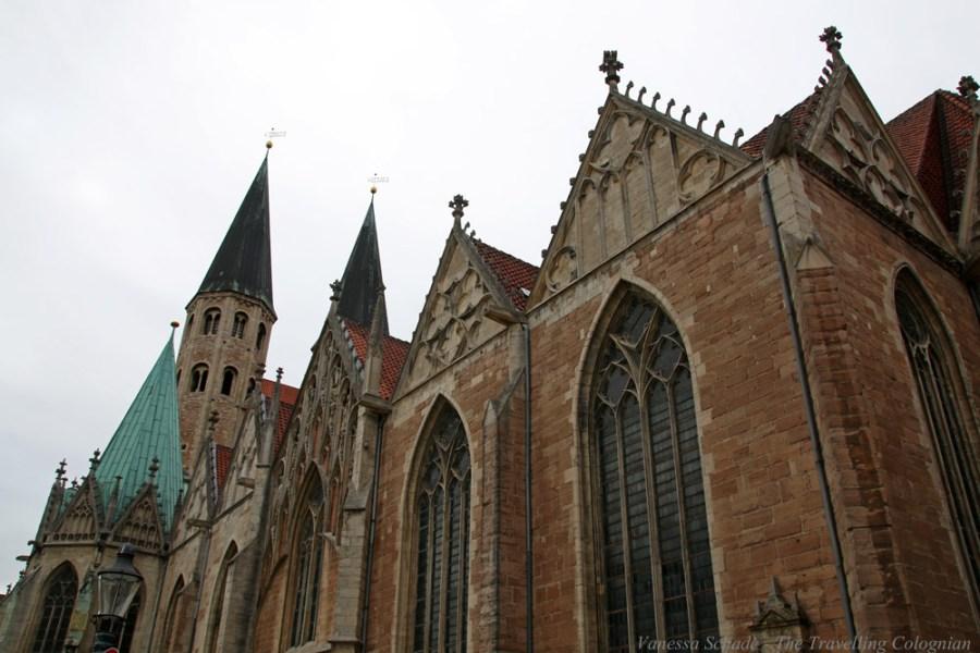 Kirche St. Martini Braunschweig Niedersachsen Deutschland EUROPA