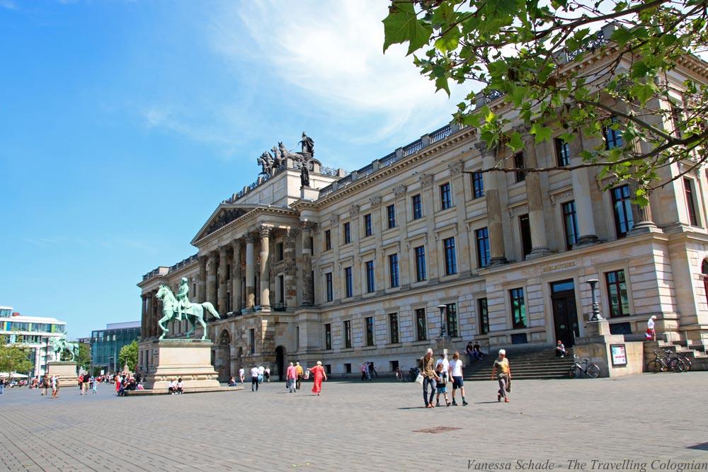 Braunschweiger Schloss Braunschweig Niedersachsen Deutschland