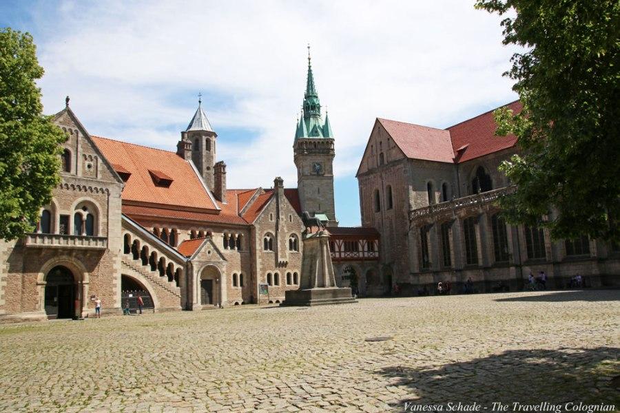 Burgplatz Braunschweig Niedersachsen Deutschland EUROPA