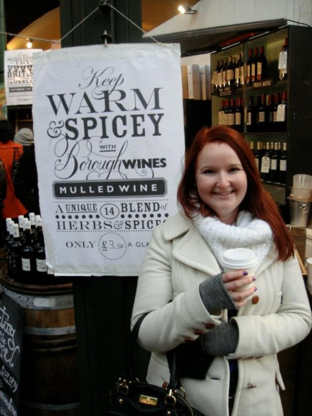 Mulled Wine at the Borough Markets in London