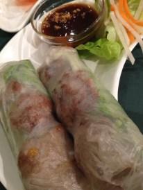 Hoang Kim vietnamese restaurant cuisine rice paper roll pork